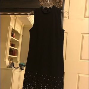 Black ladies Guess dress with silver for accents